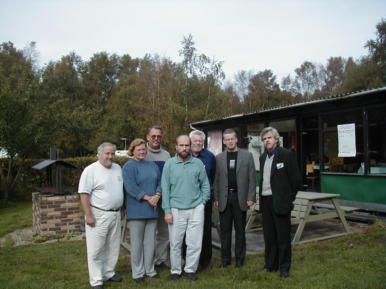 Beslut om SNP: Tony Möller, Eva Ruud, Eirik Isene, Jens Christian Nielsen, Sven Overgaard, Inge Halvorsen och Inge Gullander
